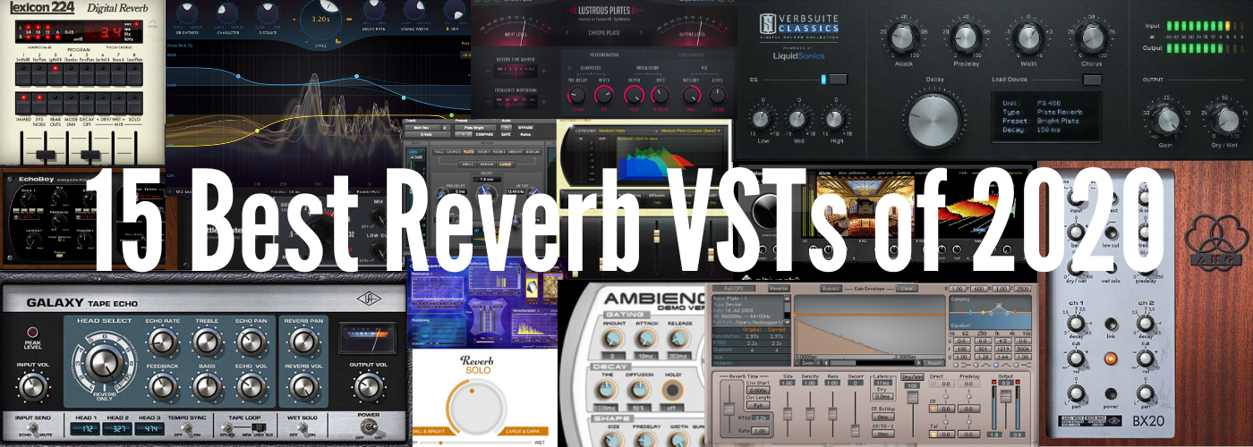 15 Best Reverb VSTs of 2020 Banner